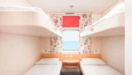 4-bunk cabin