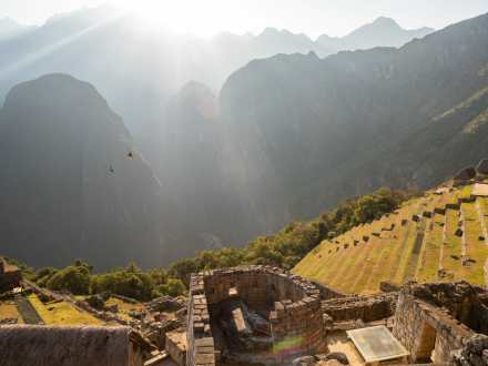 The Inti Huatana at Machu Picchu is believed to have been used as a sundial or calendar
