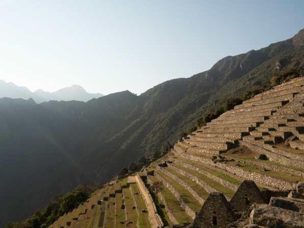Terraces at Machu Picchu