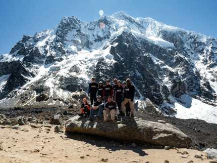 Our Salkantay Trekking family