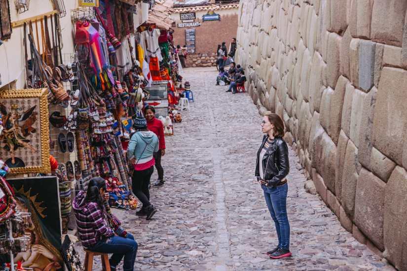 Amazing Inca stonework around Cusco