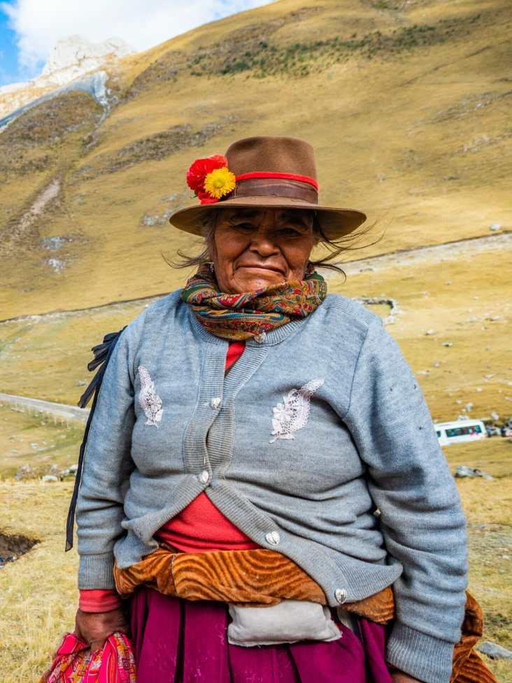 The cobrador at Quartelhuain