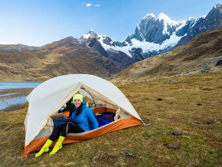 Camping at Laguna Mitucocha