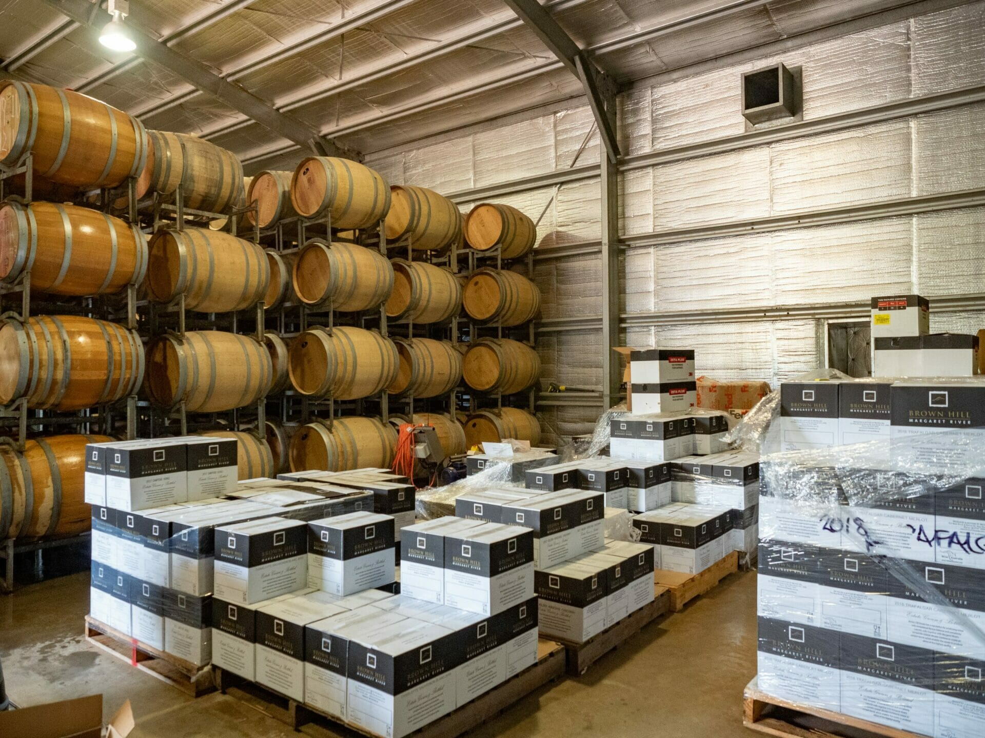 Wine barrels Margaret River Western Australia