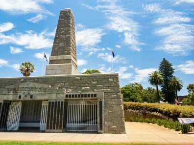 War Memorial at King's Park Perth Western Australia
