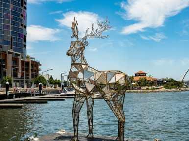 Reindeer Elizabeth Quay Perth Western Australia