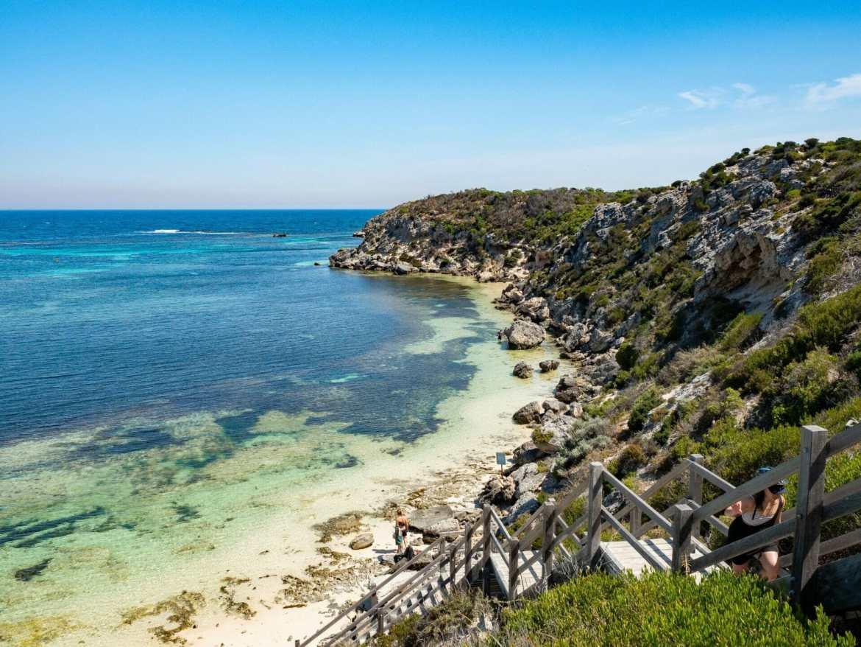 Coastline Rottnest Island Perth Western Australia