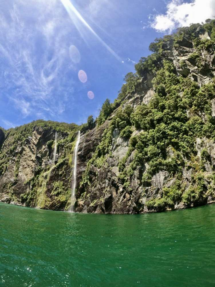 A stunning day in Milford Sound with Descend Dive