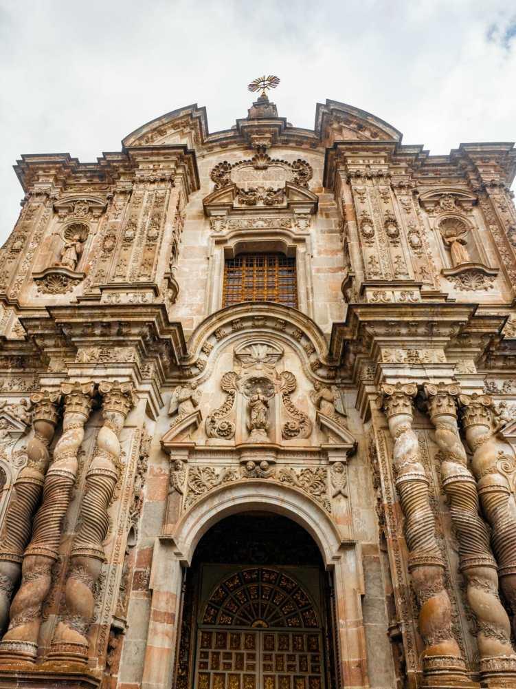 Iglesia de la Compañía de Jesus church in Quito