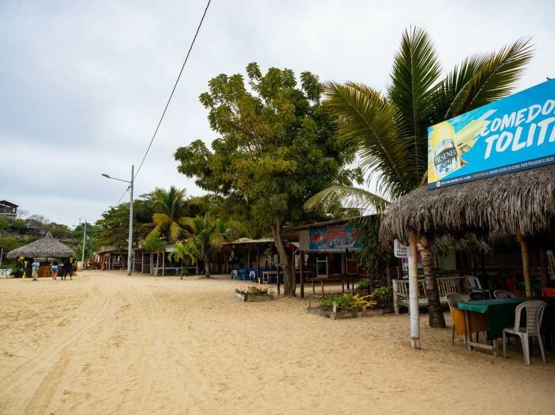 Ayangue Beach, Ecuador