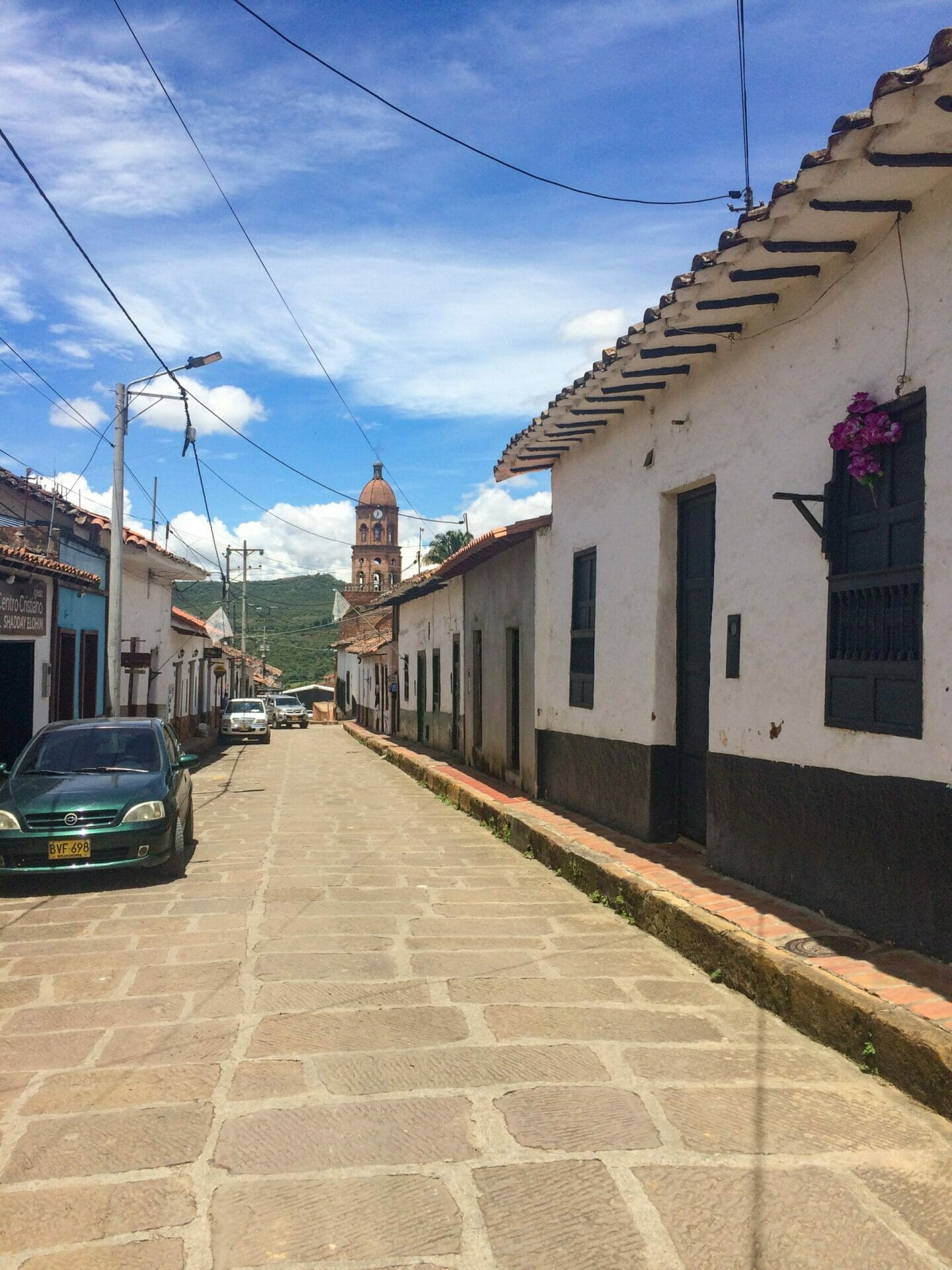 Small Colombia town