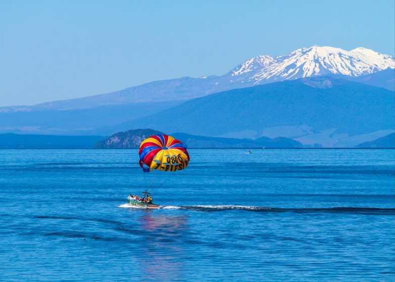 Incredible scenery in Lake Taupo