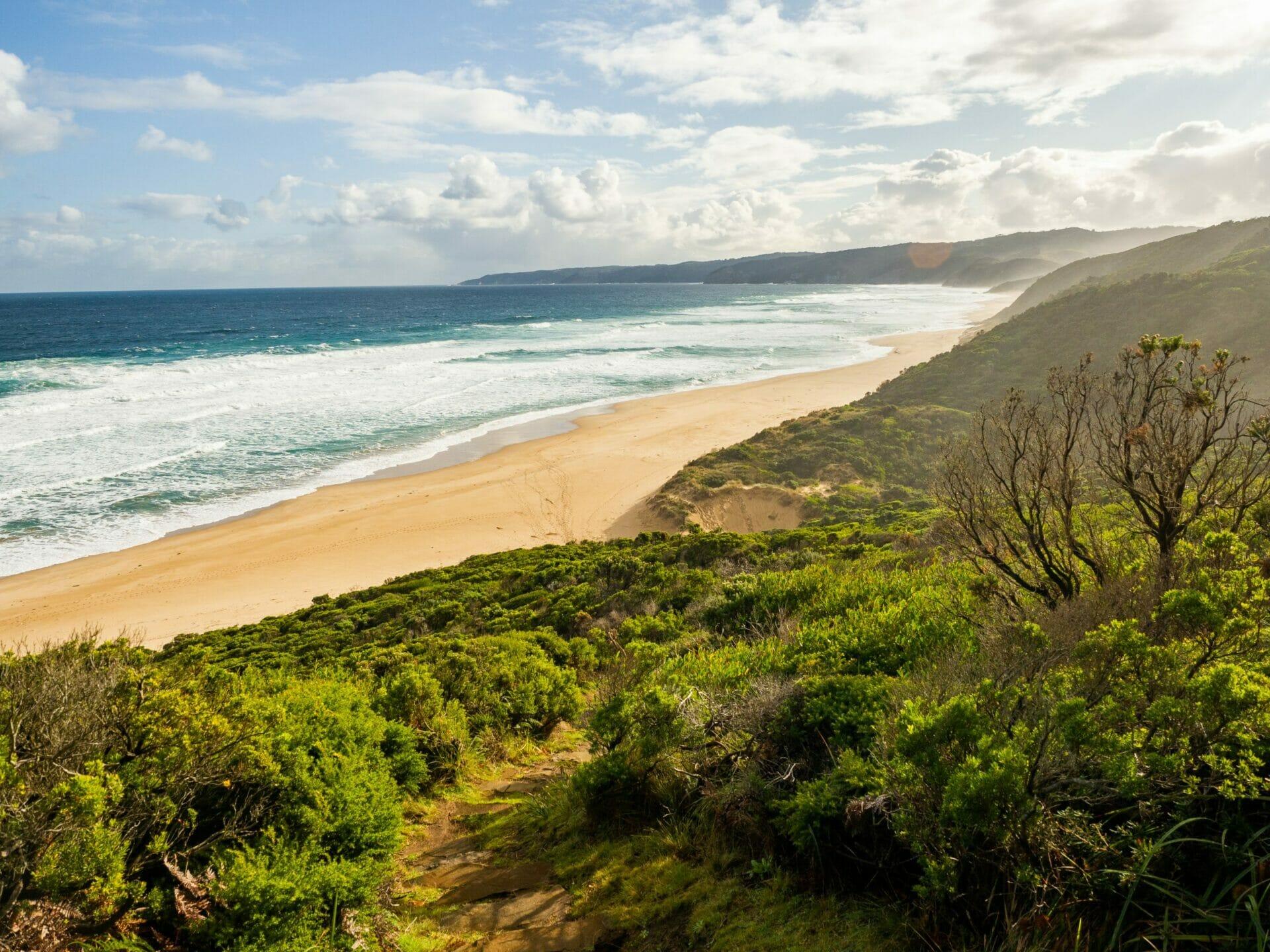 Great Ocean Walk hike Australia Johanna Beach