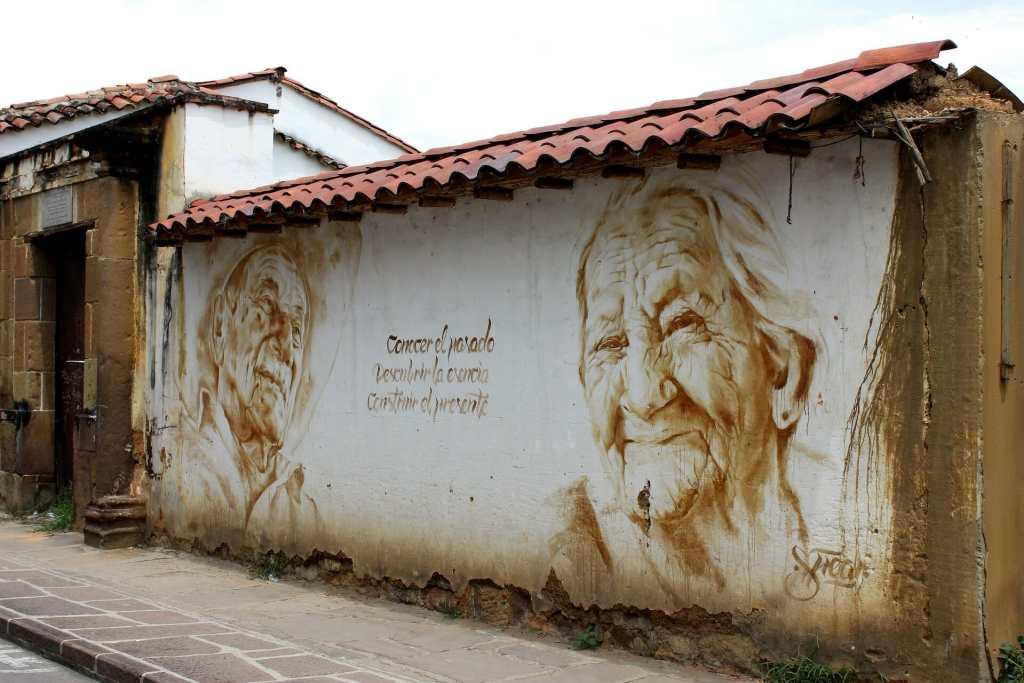 Street art in San Gil Colombia