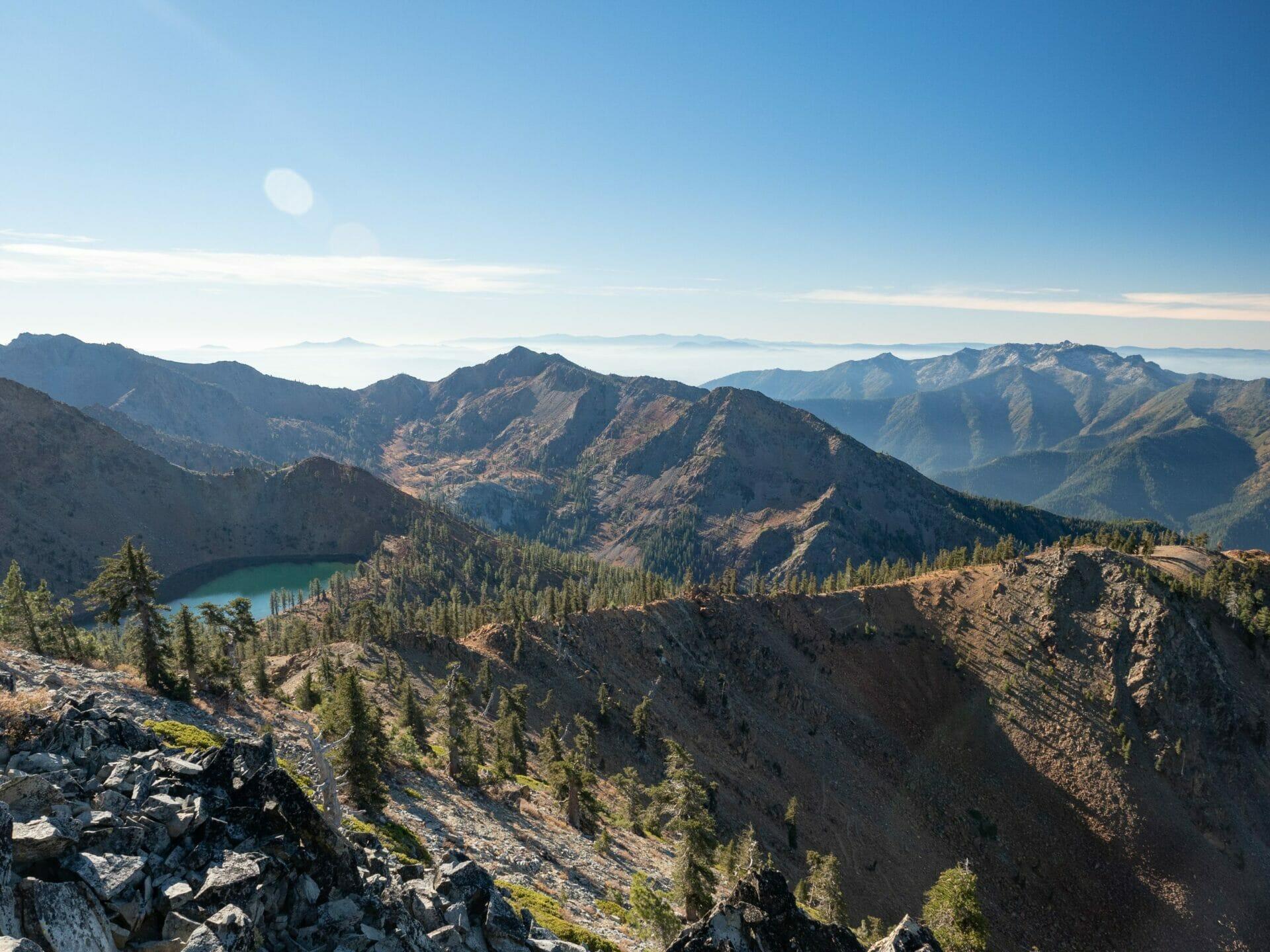 Trinity Alps Four Lakes Loop hike