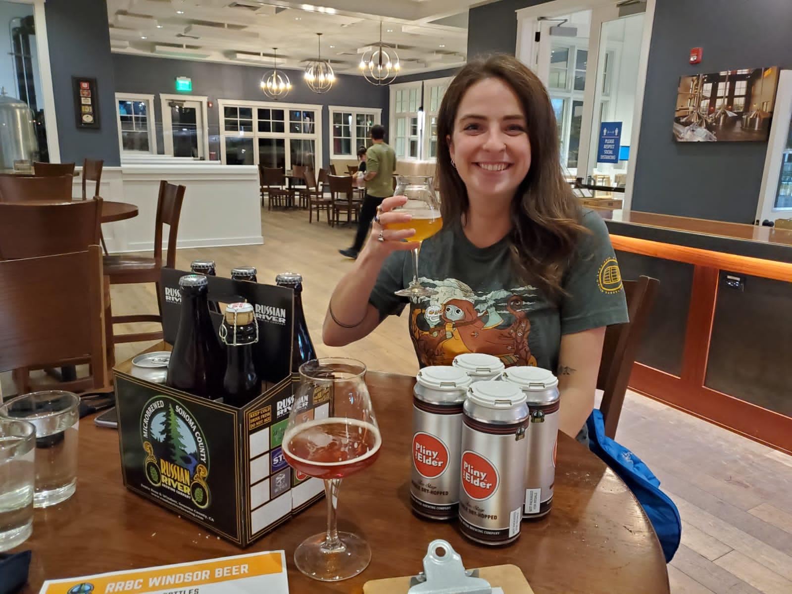 Russian River Brewing California vanlife diaries Brooke Around Town
