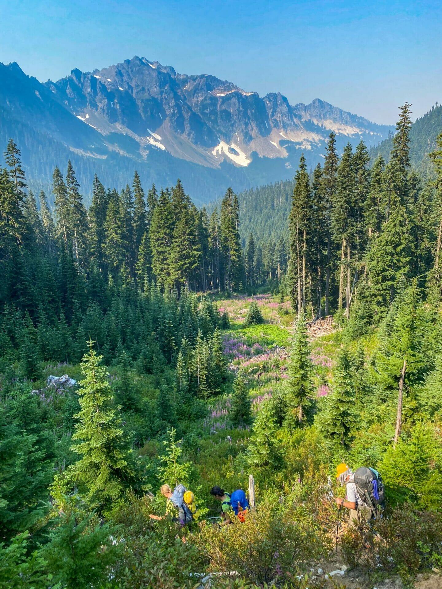 Ptarmigan Traverse North Cascades Glacier Peak mountaineering