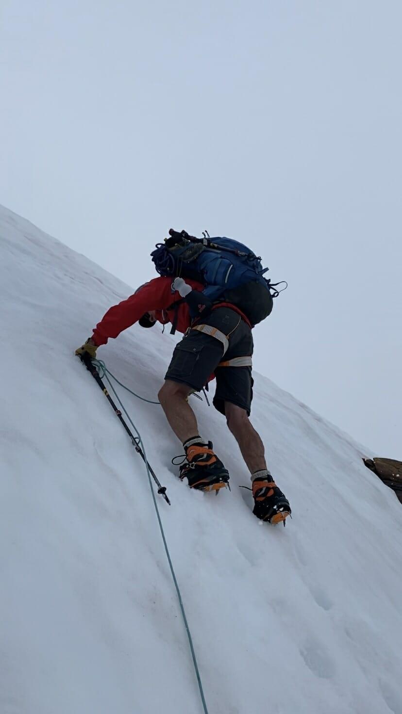 Sahale Arm Buckner Boston Basin North Cascades National Park hike climb