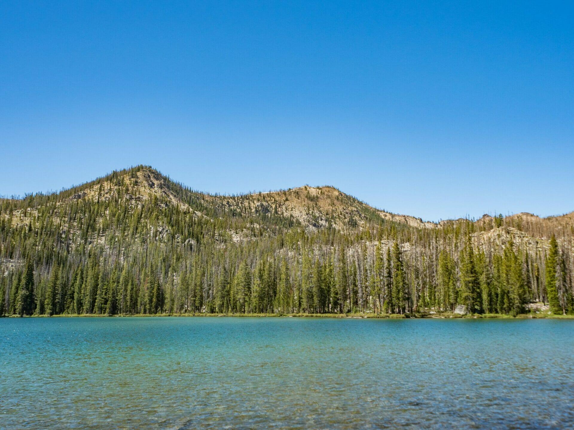 Langer Lake Ruffneck Peak summit