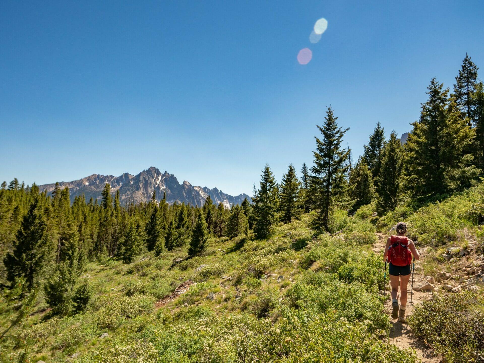 Bench Lakes Mt Heyburn best hikes Sawtooth Mountains Idaho