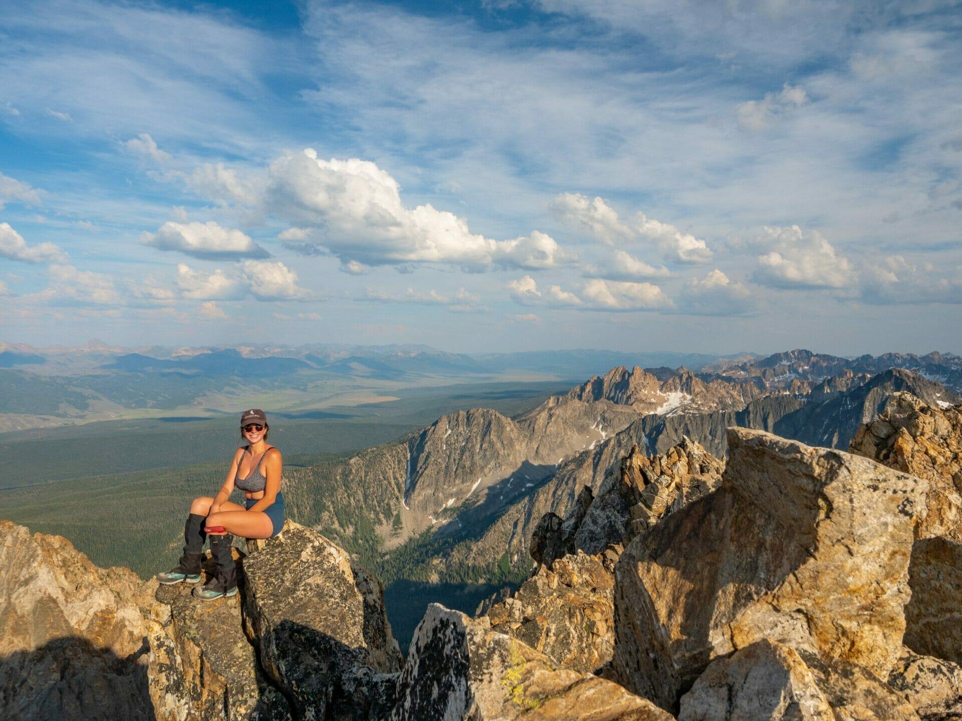 9000ft Lake Thompson Peak best hikes Sawtooth Mountains Idaho