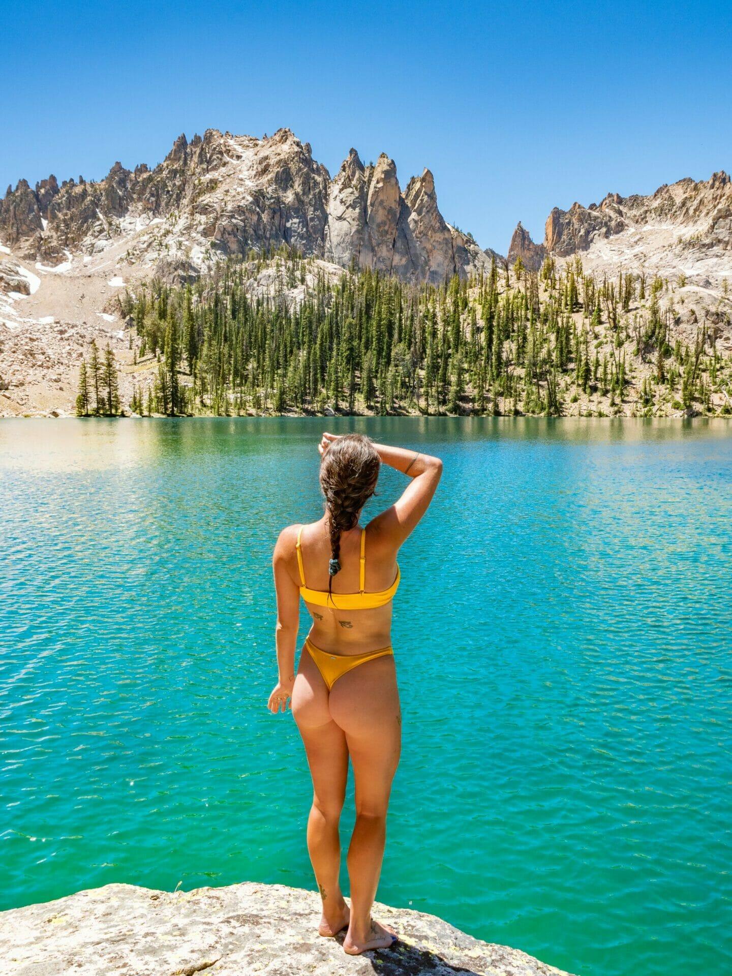 Baron Lakes backpacking best hikes Sawtooth Mountains Idaho
