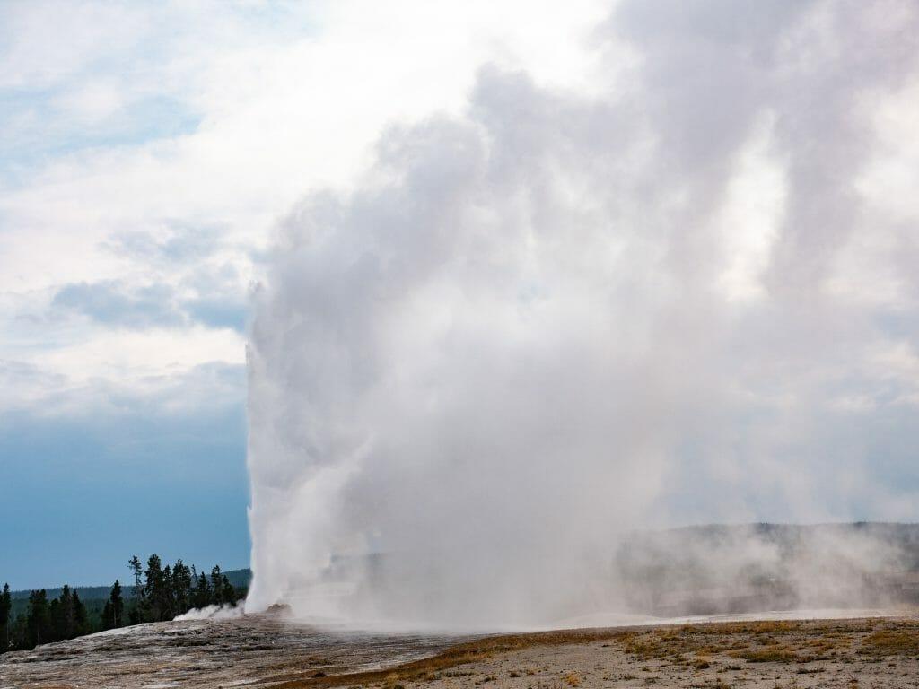 Yellowstone National Park itinerary