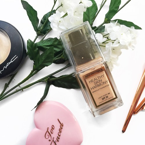 REVIEW: Max Factor Healthy Skin Harmony Foundation