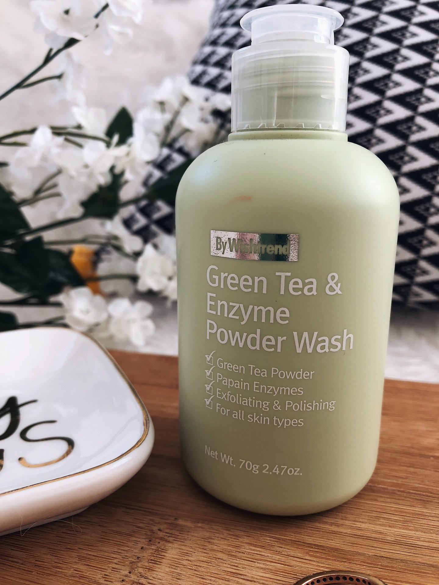 BY Wishtrend Green Tea & Enzyme Powder Wash Review