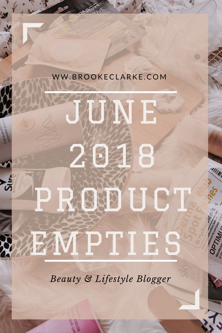 June 2018 empties Pinterest pin