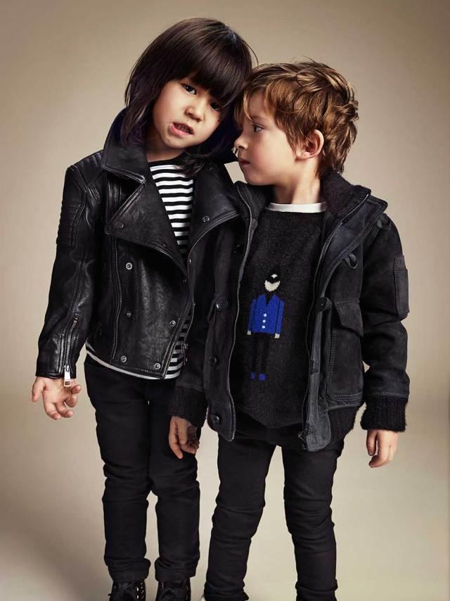 Burberry Childrenswear AW13 Lookbook