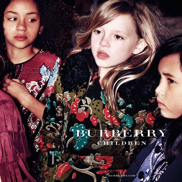 Burberry Childrenswear AW15 Campaign