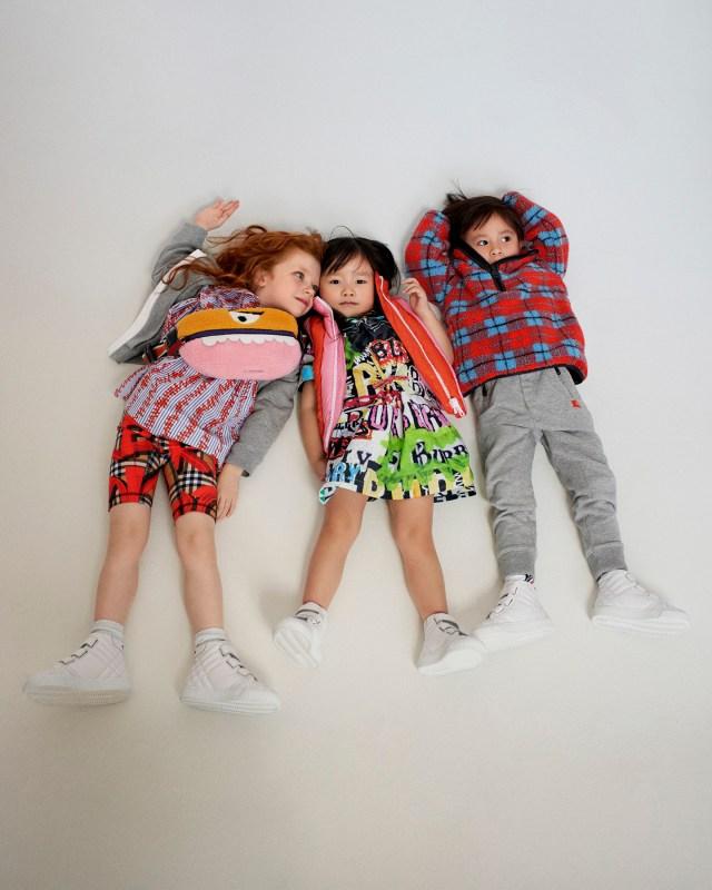Burberry Kids AW18 Campaign