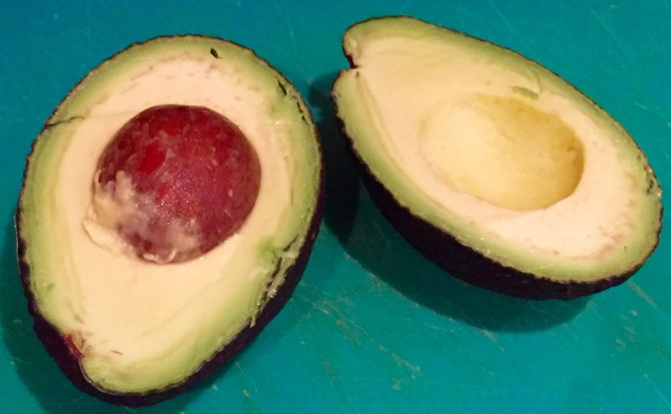 how to keep half an avocado