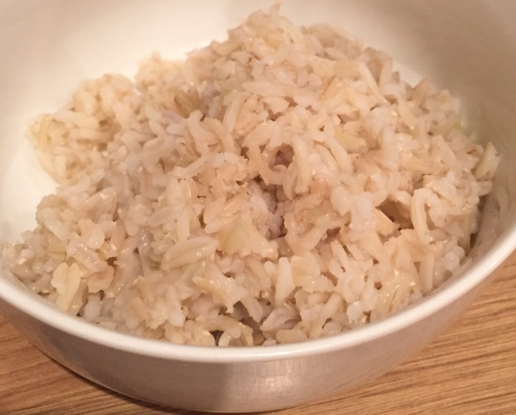recipes using brown rice