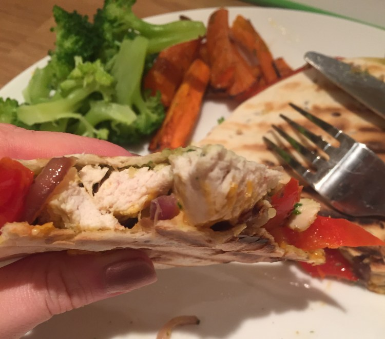 pesto chicken quesadilla recipe