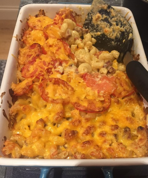 Speedy Chorizo Macaroni Cheese