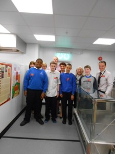 Pupils learning about work