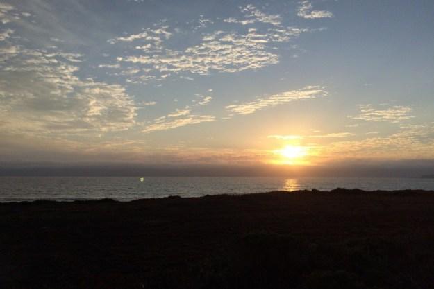Sunset at Half Moon Bay, CA