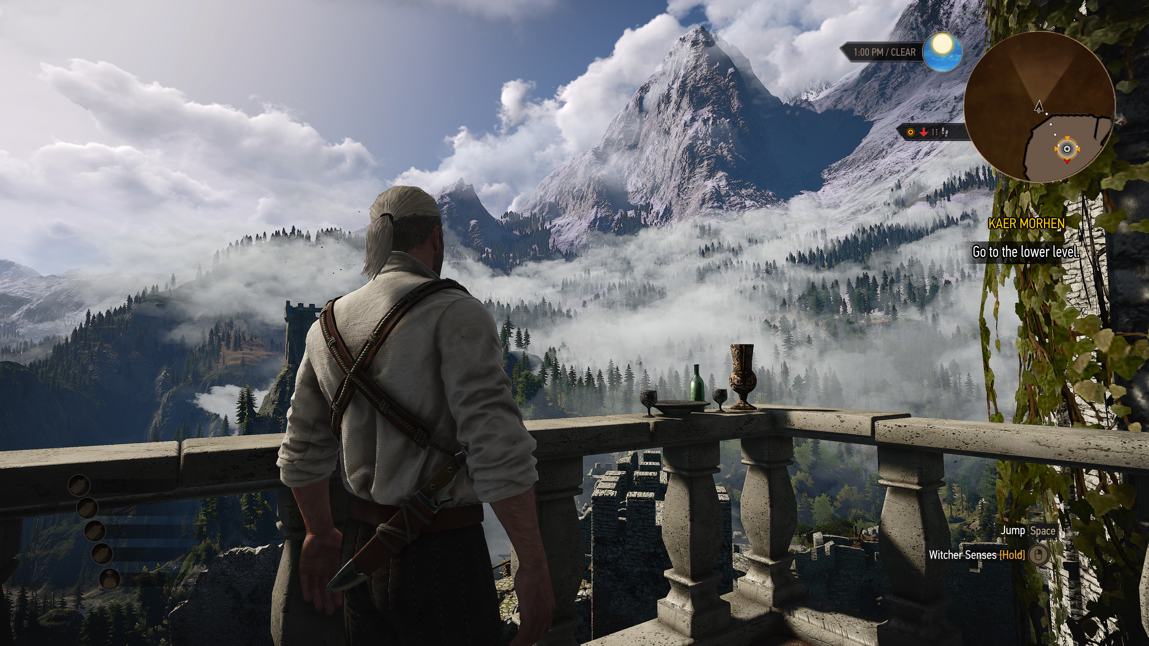 Witcher 3 and MGS5 screens at 4k on test build
