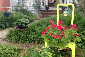 funky garden chair