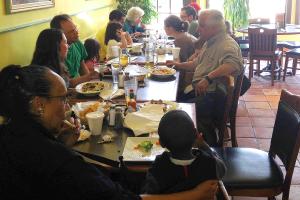 Gathering at San Antonio Bar & Grill