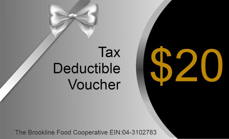 $20 Tax Voucher