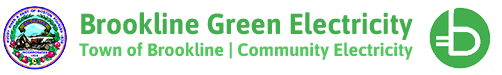 Brookline Green Electricity, Town of Brookline, Community Electricity