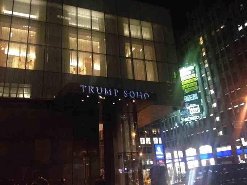 the trump soho