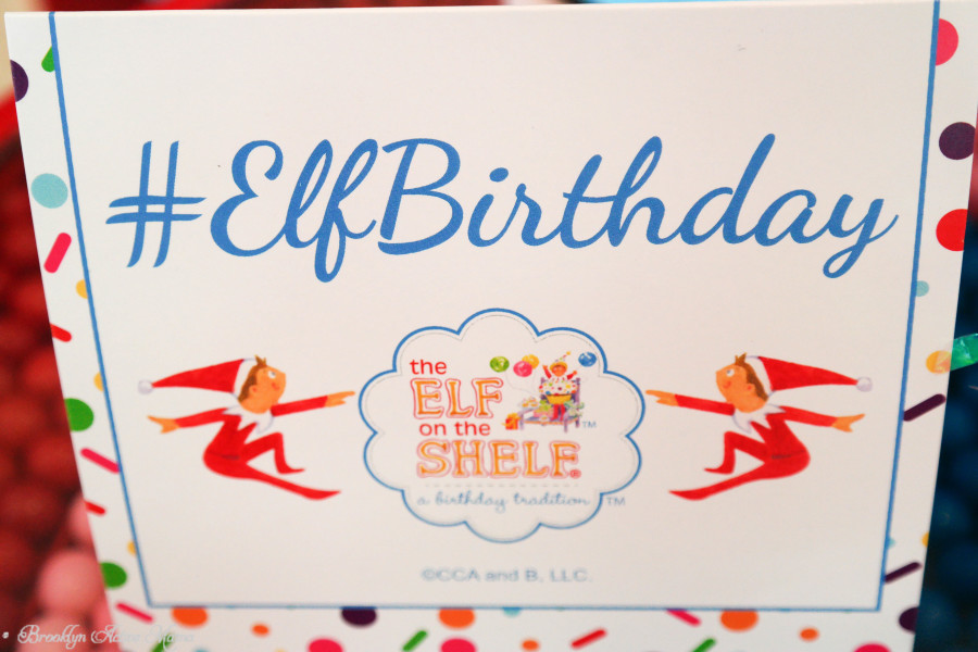 elf on the shelf birthday party #elfbirthday