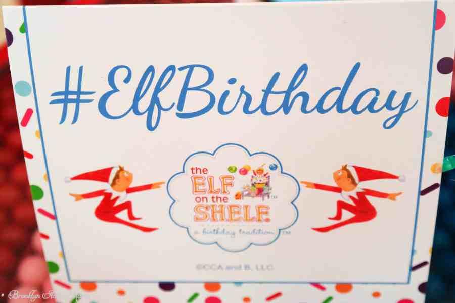 elf on the shelf birthday party #elfbirthday