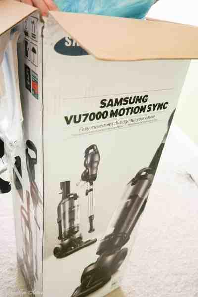 BAM Reviews: Samsung VU7000 Motion Sync Upright Vacuum