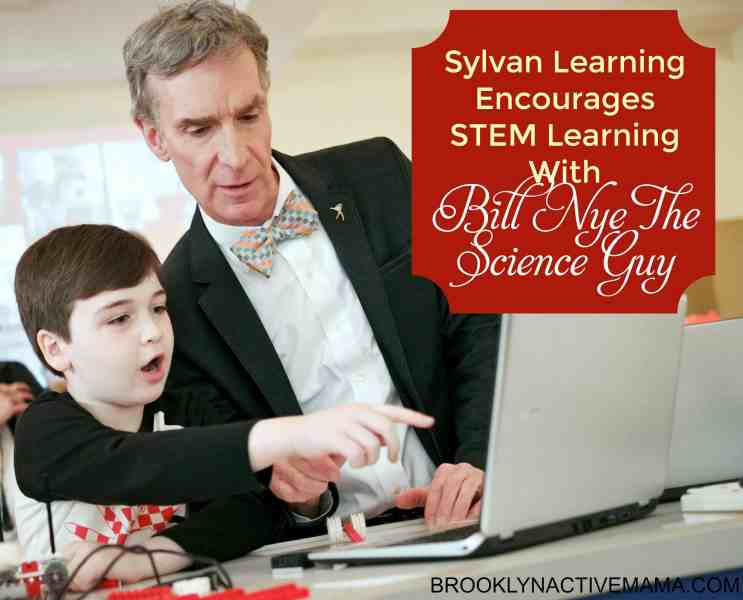 Bill Nye Demonstrates Sylvan Learning's New EDGE Robotics Offering at the 'Find Your Edge' Event in NYC, April 21, 2015 ((Brian Ach_AP Images for Sylvan Learning)