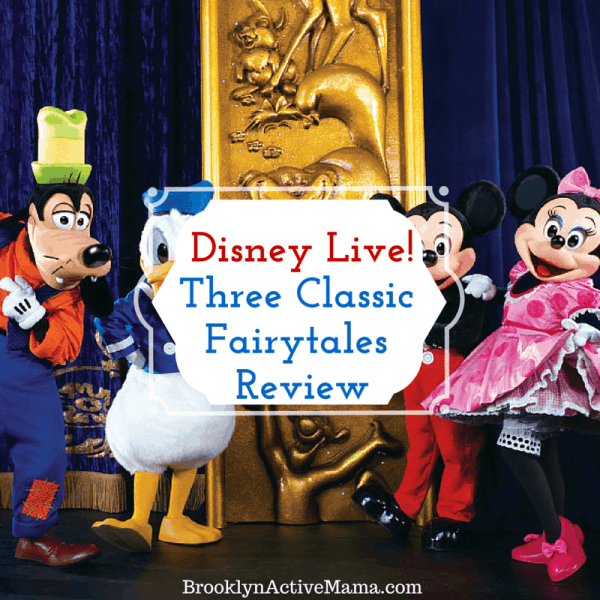 disney live three classic fairytales